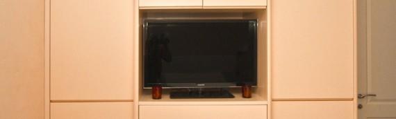 armadio tv arancio 2