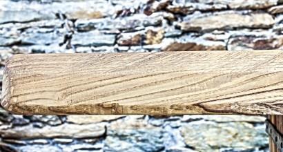 Tavolo esterno, dettaglio
